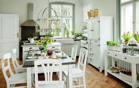 Blog wnętrzarski Mile Maison Blog o urządzaniu wnętrz i designie: Prowansalskie meble kuchenne