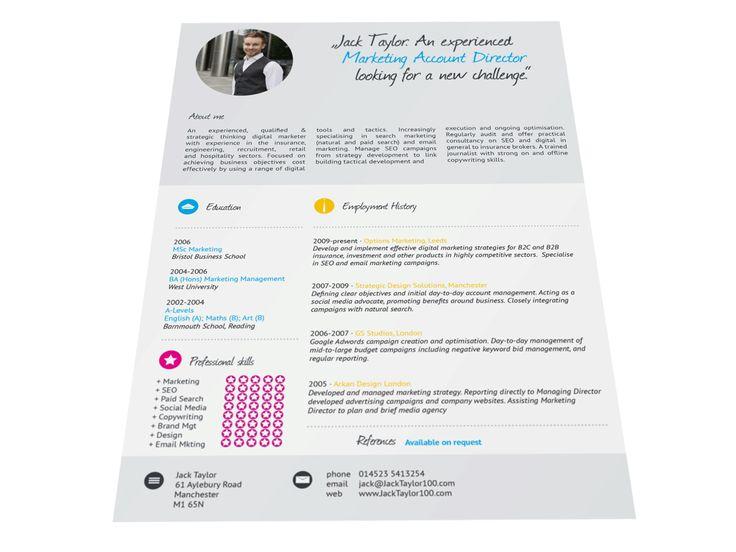 18 best CV Templates images on Pinterest Career, Cv template and - software development proposal template