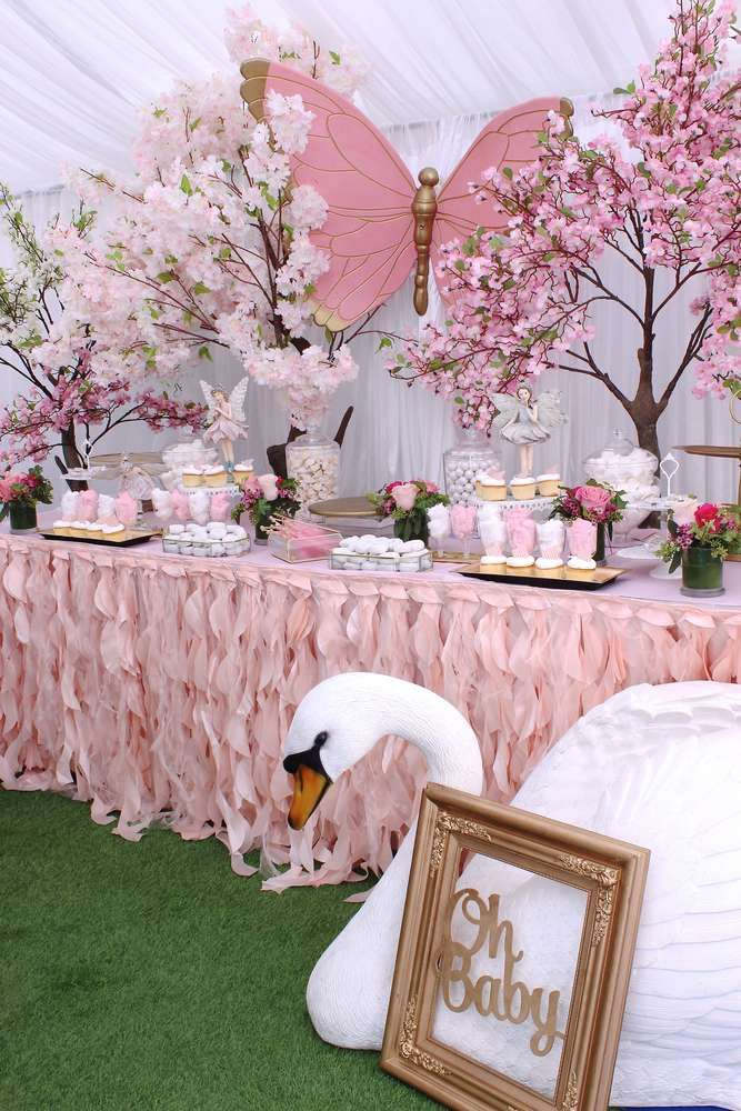 Enchanted Garden Baby Shower Party Ideas Photo 1 of 14