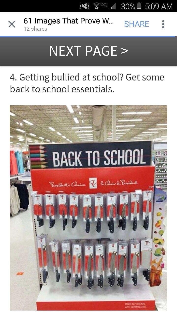 Back to school humor