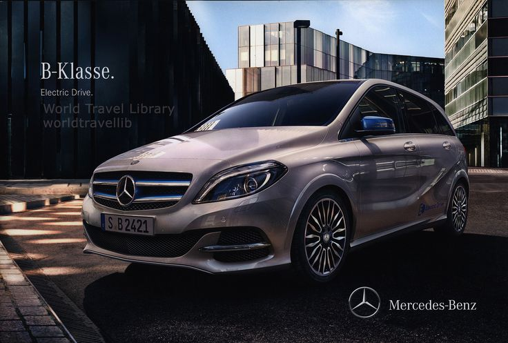 https://flic.kr/p/S7NJ2m | Mercedes-Benz B Klasse. Electric Drive. 2014_1