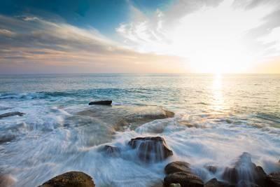 Laguna Beach Shore Break and Waves Photographic Print by Ben Horton at Art.co.uk