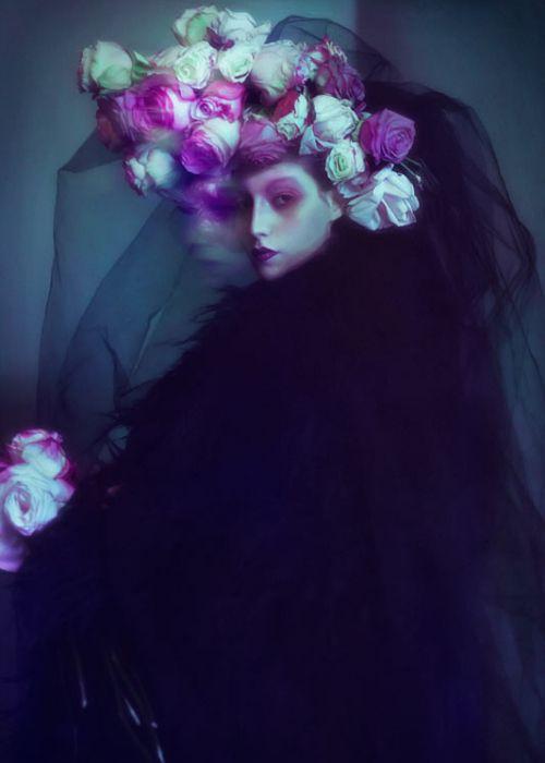 The Woman In Black, by Elizaveta Porodina