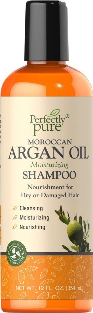 Perfectly Pure Moroccan Argan Oil Shampoo-12 oz Shampoo -- Details can be found by clicking on the image.