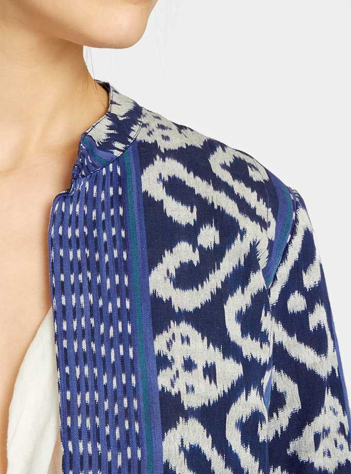 Couverture and The Garbstore - Womens - Rabens Saloner - Ikat Jacket