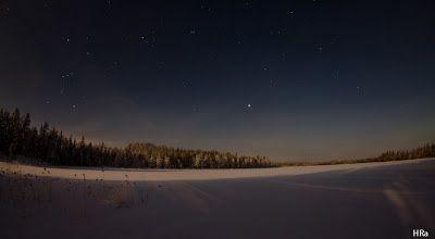 kuutamo talvella, by Heikki Rantala