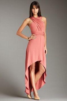 Infinity Dresses : Infinity Dress - Hi/Lo Plain