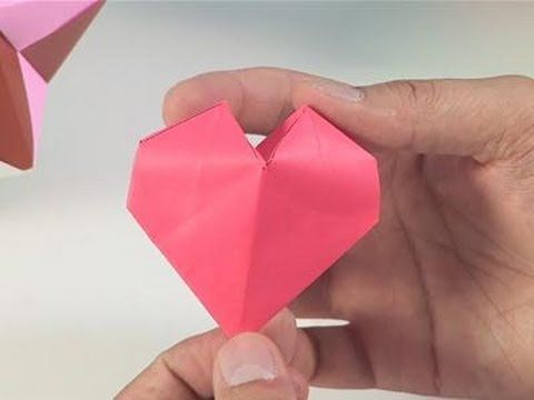 How To Make Origami Paper Hearts