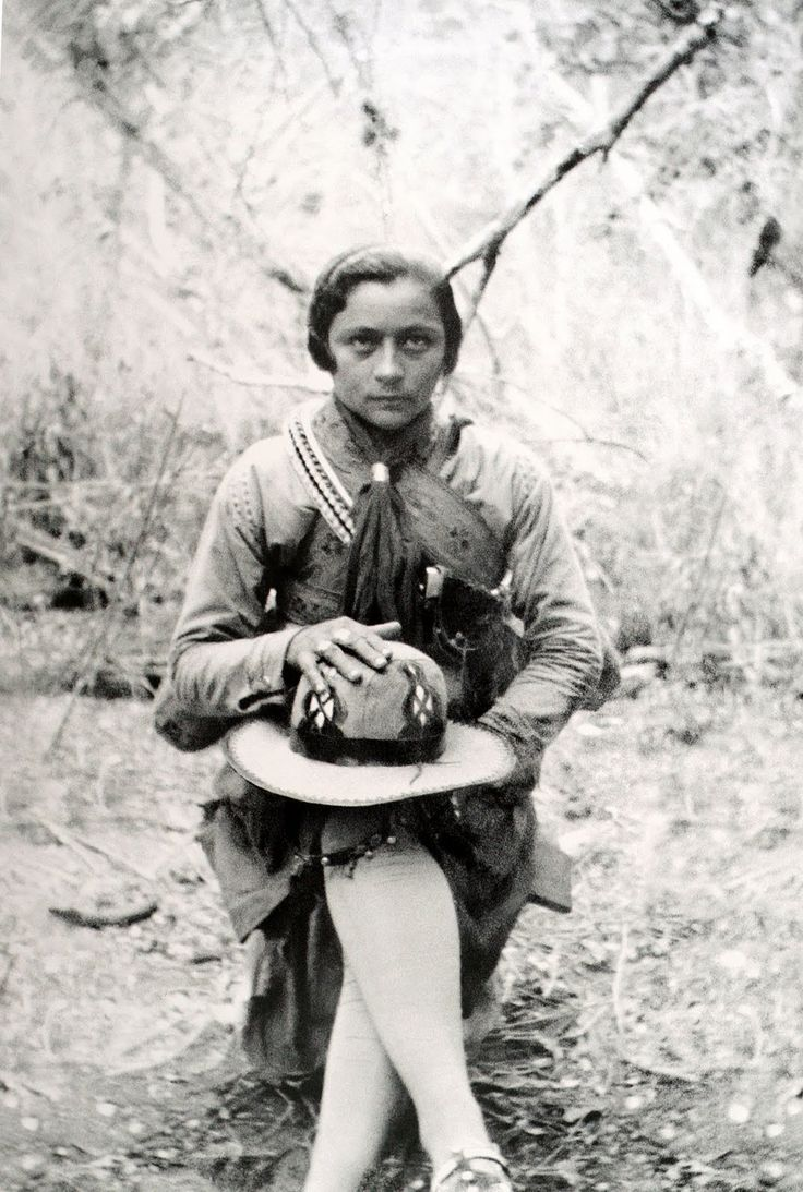 Maria Gomes de Oliveira, a Maria Bonita, em foto de 1931. A mulher de Lampião morreu decapitada em 1938, aos 27 anos.