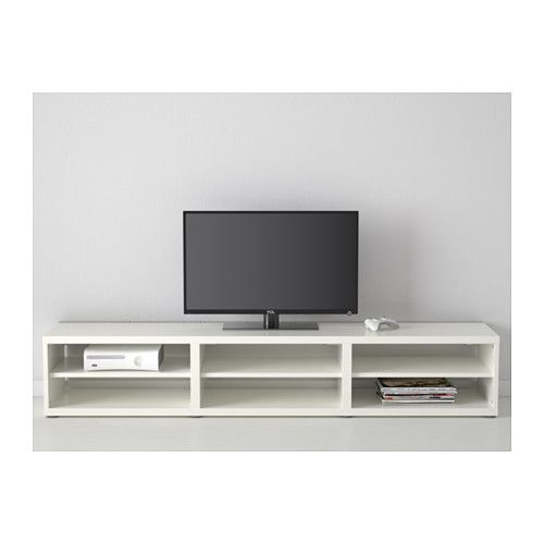 25 best ideas about banc tv blanc on pinterest tv ikea for Ikea besta blanc