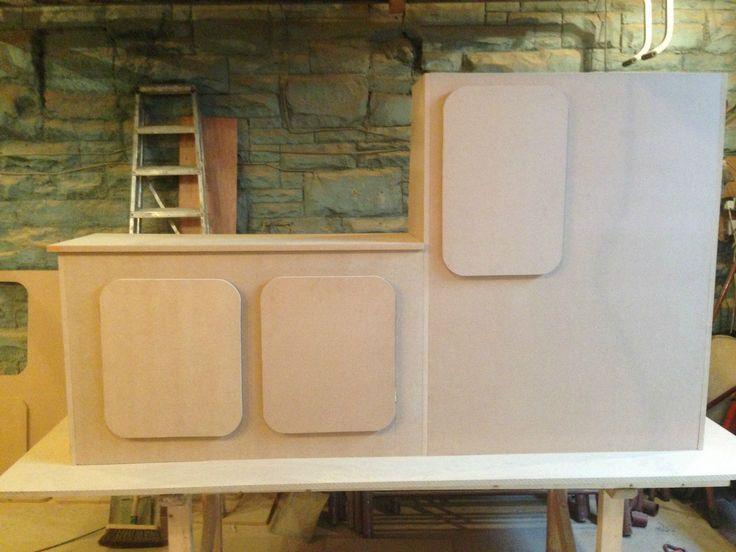 51 best ford transit van conversions images on pinterest for Campervan kitchen ideas