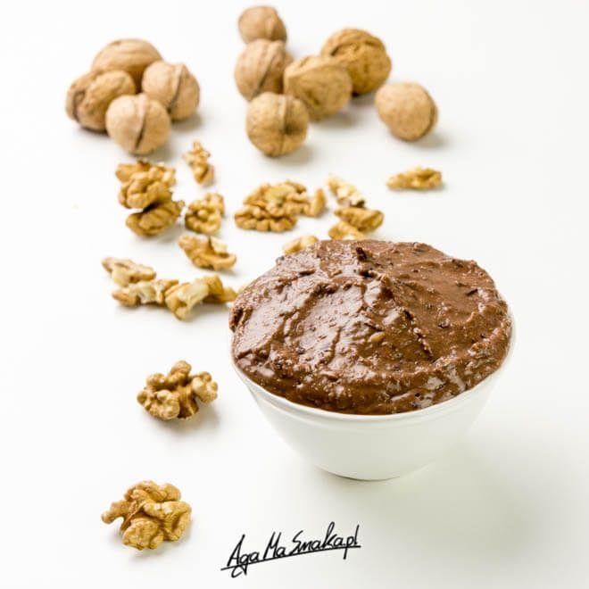 domowy krem czekoladowo-orzechowy zdrowa nutella