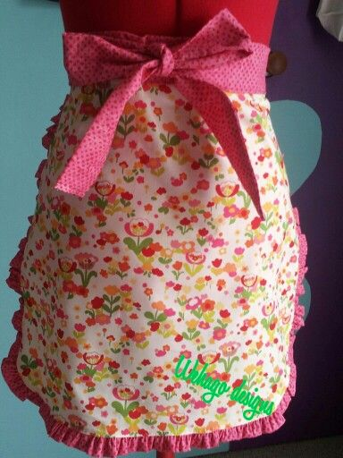 A cheery apron for your kitchen adventures