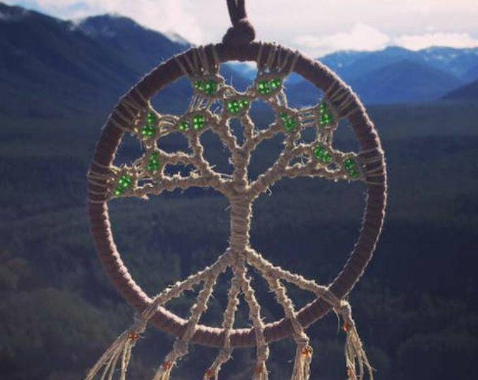 Levensboom muur opknoping - Macrame Wall Art - Hippie slaapkamer Decor - de gunsten van het huwelijk - Hippie Kunst aan de muur - Hippie Tapestry