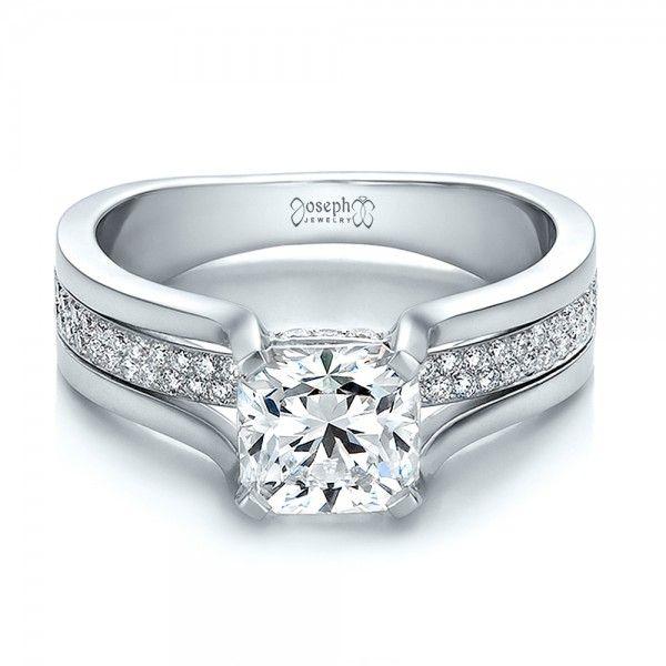 Popular Custom Diamond Engagement Ring