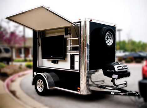 Tailgate party trailer #kendrascott #teamKS
