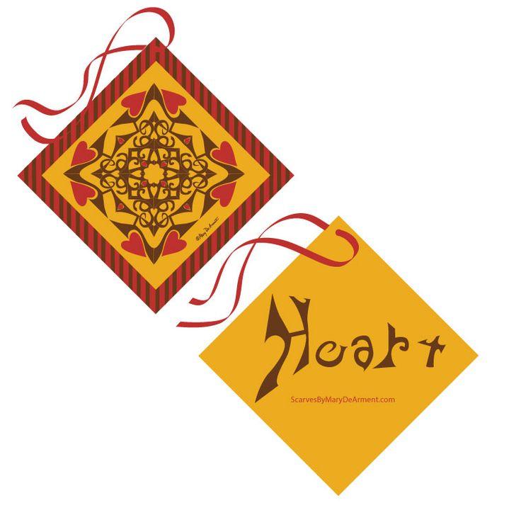 Golden Heart Gift Ornament