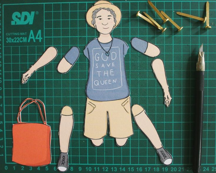 How to create your paper-doll character
