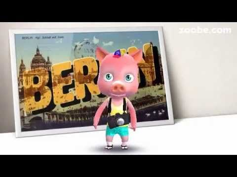 Best holiday characters for your summer messages — Zoobe - 3D animated video messages, free app for iOS and Android. Get famous characters like The Smurfs, Maya the Bee... http://minivideocam.com/how-to-choose-the-best-camera-for-youtube/