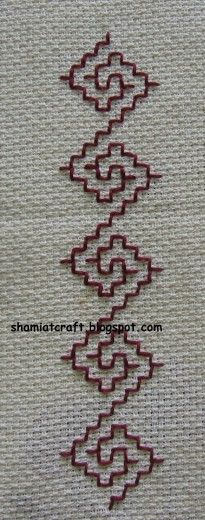 kasuti lesson 1 » Sarah's Hand Embroidery Tutorials