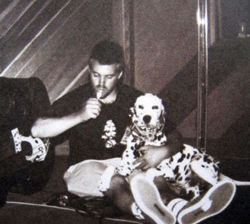 Brad and Louie