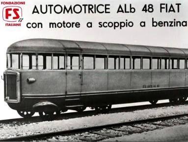 L'automotrice ALb 48 si può considerare la prima Littorina, caratterizzata da un aspetto più da treno che da corriera /autobus, con il muso aerodinamico, che Fiat userà per le sue automotrici fino al 1936, e da i due carrelli con due assi.
