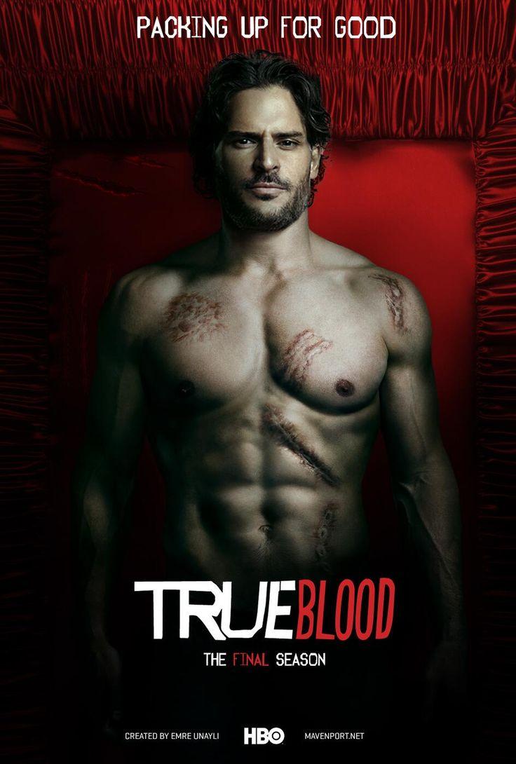 fuckyeahjoemanganiello:   True Blood Season 7: Alcide fan-made poster byEmre Ünaylı.  (Source: Twitter)