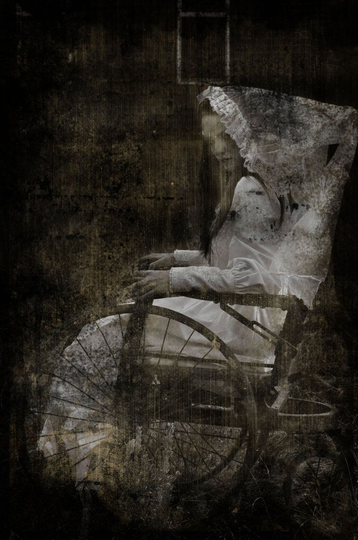 """""""won't you sit with me awhile"""" she says to @Autumn Syracuse as she watches her sleep and haunts her dreams"""