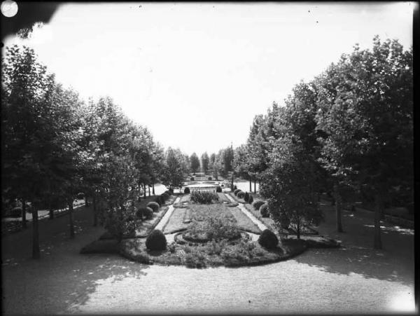 Mantova, Giardini nuovi di viale Piave