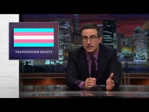 John Oliver nails it on transgender rights!