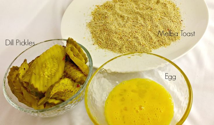 """""""Fried"""" Pickles 