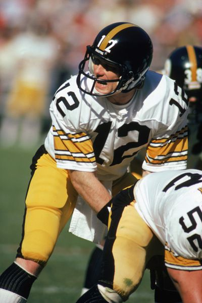 Terry Bradshaw (QB) Steelers - First Year: 1970 - 13 seasons - Drafted: Round 1, Pick 1