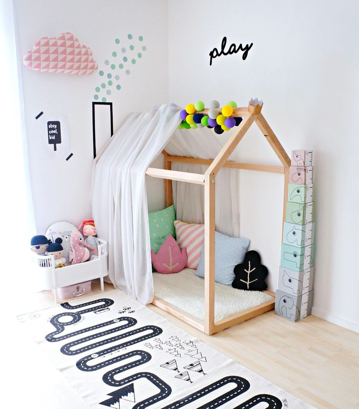 Bloomingville Dots Wall Stickers Boy Multi color
