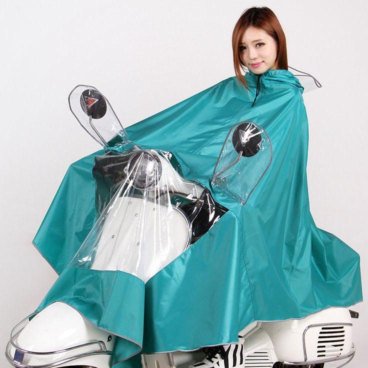 Fashion Motorcycle Electric Vehicles Women Raincoat Colorful Poncho Impermeable Rain Coat Rain Cape