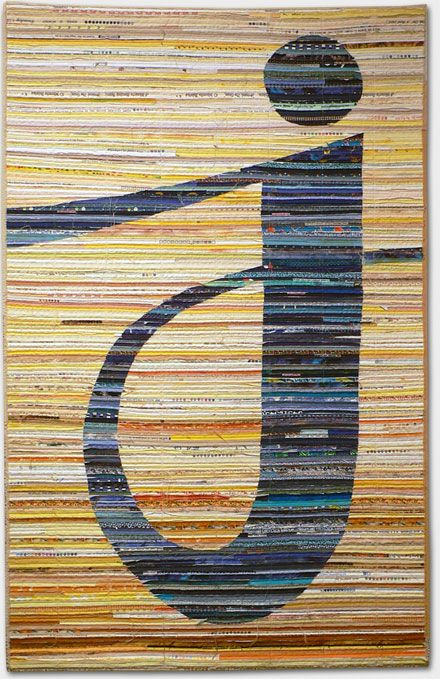 Kathleen Loomis - quilt from her awesome alphabet series