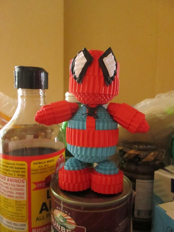 #spiderman #spidey #kokoru #papercrafts #handmade