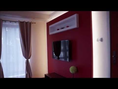 Zabudowa telewizora podświetlenie taśma led. tv wall design ideas #diy #tvwall