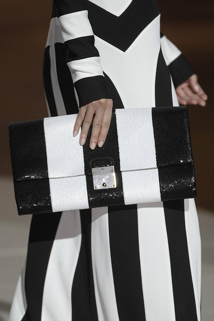 Stripes on Stripes: Marc Jacobs Spring 2013.