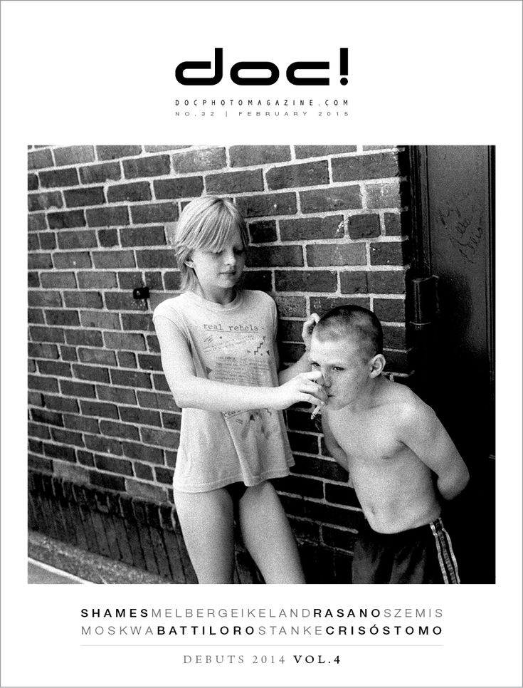 doc! photo magazine #32 - cover Cover photo: Stephen Shames