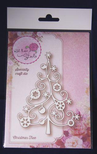 Wild Rose Studio 'Christmas Tree' Festive Die SD036