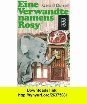 8 best torrent book images on pinterest pdf tutorials and astronomy eine verwandte namens rosy german edition 9783499115103 gerald durrell isbn fandeluxe Image collections