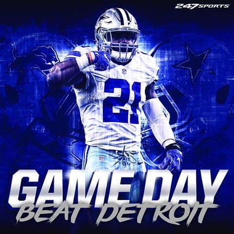 Dak and Zeke will play today! Here's to no injuries and a Cowboy win!!