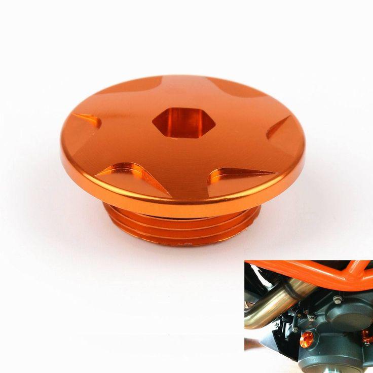 Mad Hornets - CNC Engine Case Cover Screws Plug Bolts KTM DUKE 125 200 390 Orange, $17.99 (http://www.madhornets.com/cnc-engine-case-cover-screws-plug-bolts-ktm-duke-125-200-390-orange/)