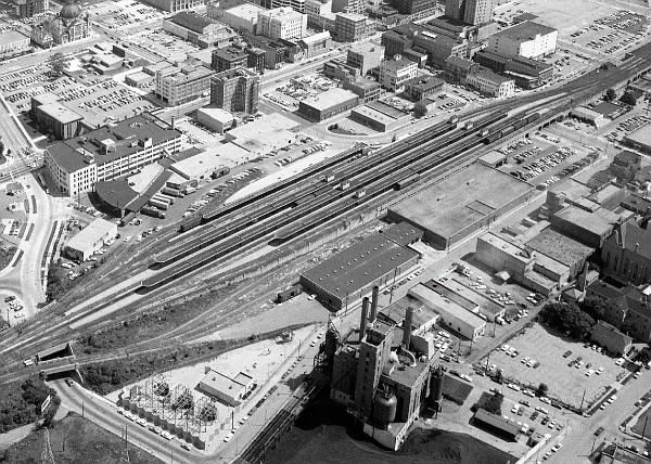 Dayton Union Station - Long gone!