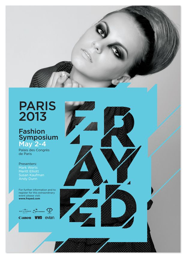 Fashion Poster #graphic #design