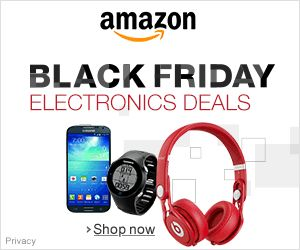 Amazon Black Friday ElectronicsDeals - check here first, iPads, more, lowest prices!