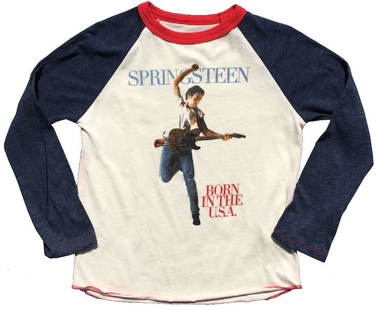 Rowdy Sprout Bruce Springsteen T-Shirt (Onesie for Infants)