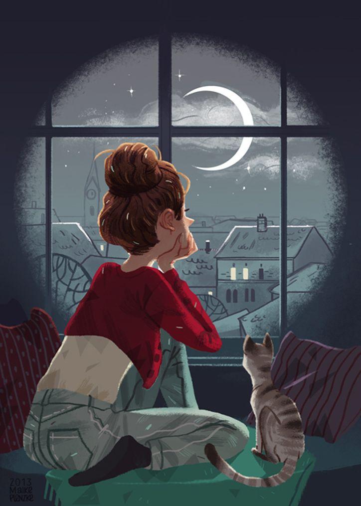 moon gazing. - aike Plenzke:
