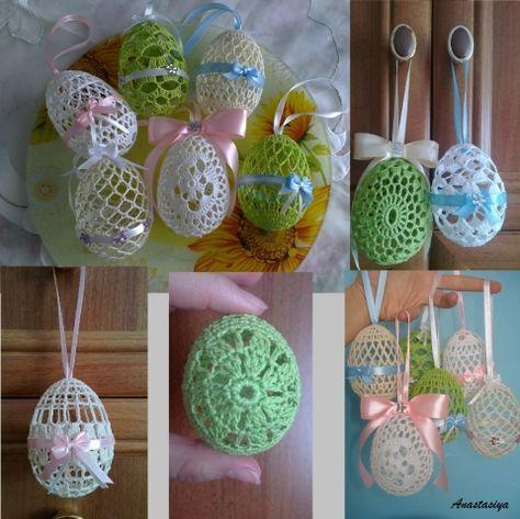 Обвязка яиц / Вязание крючком / Вязание крючком для начинающих
