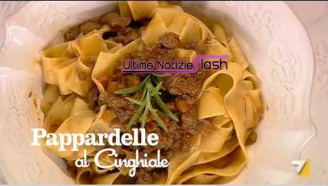 pappardelle al  cinghiale ricette benedetta parodi copia